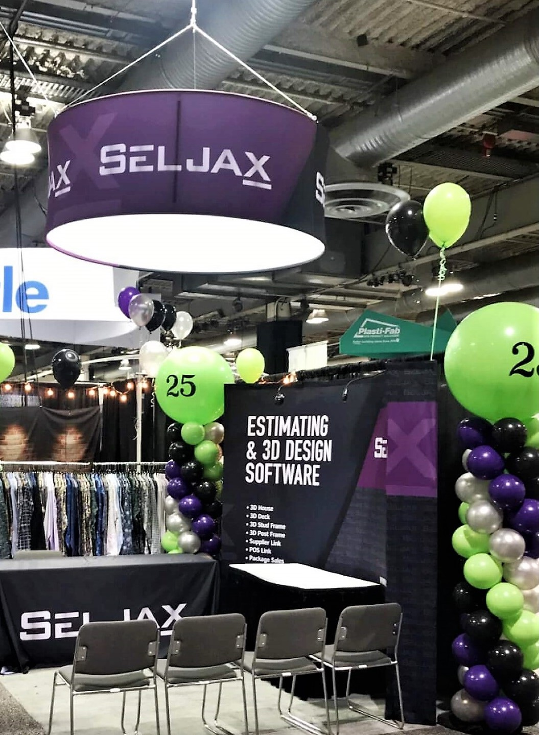 Seljax Trade Show Booth