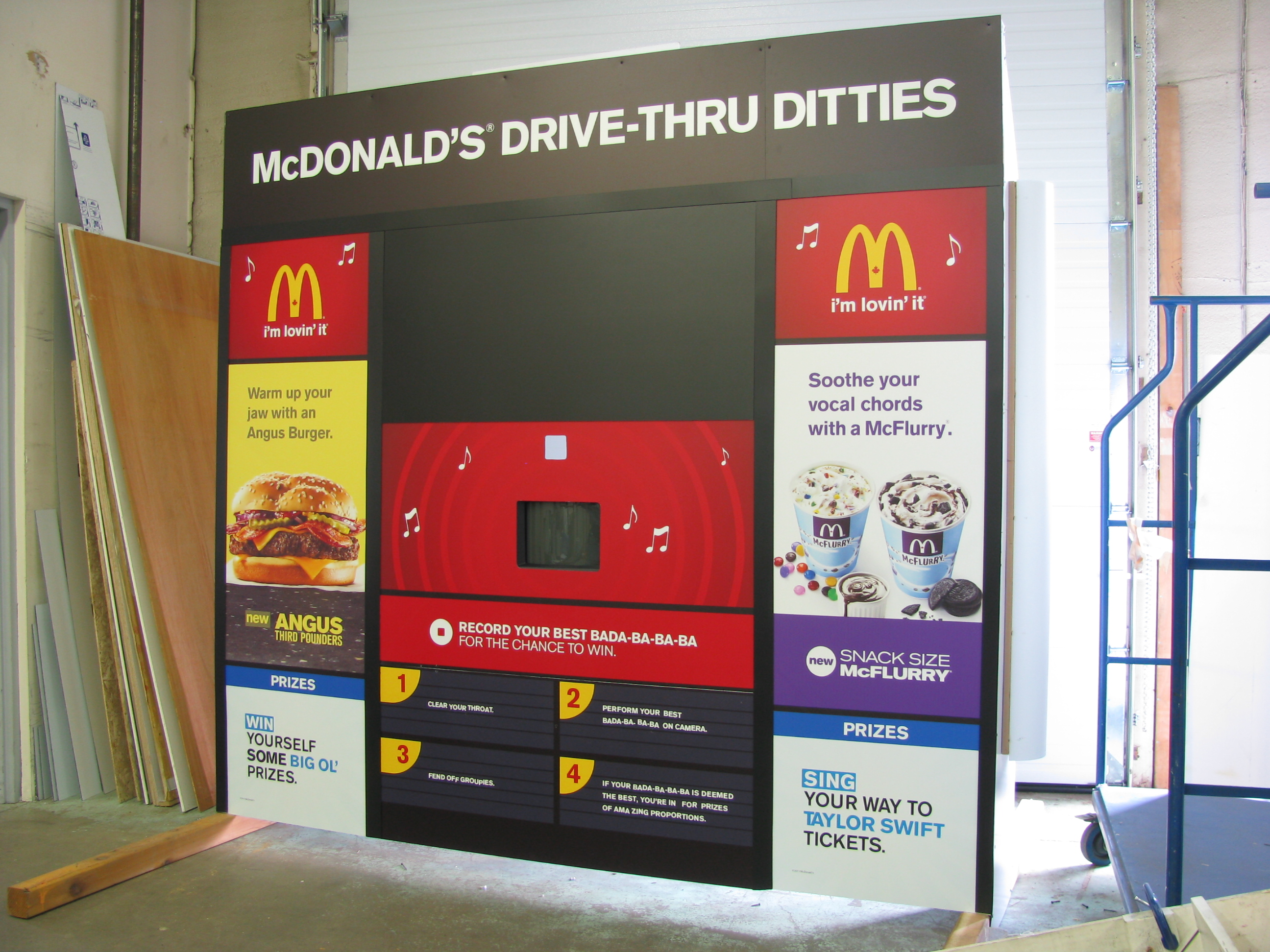 McDonalds Drive through