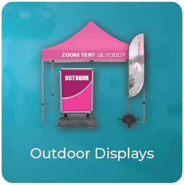 Outdoor trade show display